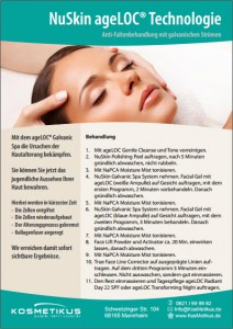Flyer NuSkin Technologie